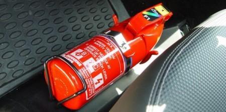 Extintor para carros