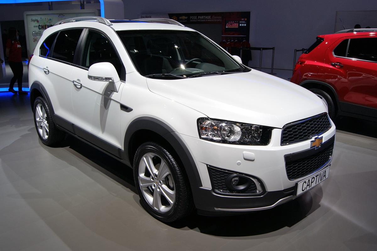 Chevrolet Captiva 2015 Confira As Caracter 237 Sticas Do