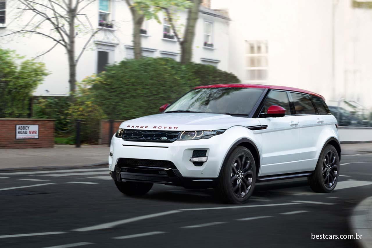 Em 2014, o Range Rover Evoque ajudou a aumentar em 9% as vendas da Land  Rover no mundo. Aqui no Brasil, Range Rover Evoque é o recordista da marca. c397b6c7d0