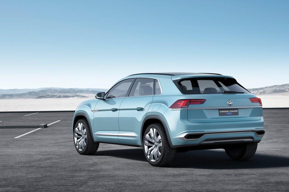 Volkswagen Cross Coupe GTE Concept