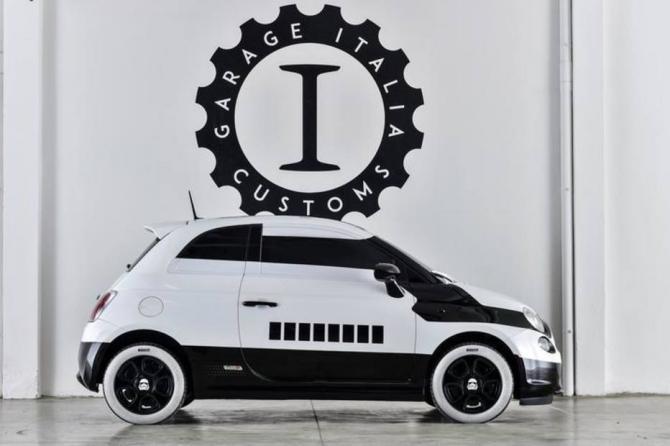 Fiat 500e Stormtrooper Concept