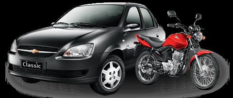 Moto e carro