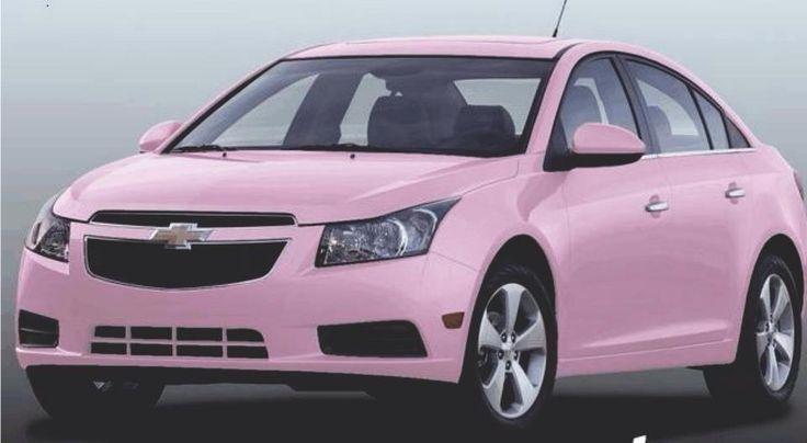 Carro cor de rosa da Mary Kay