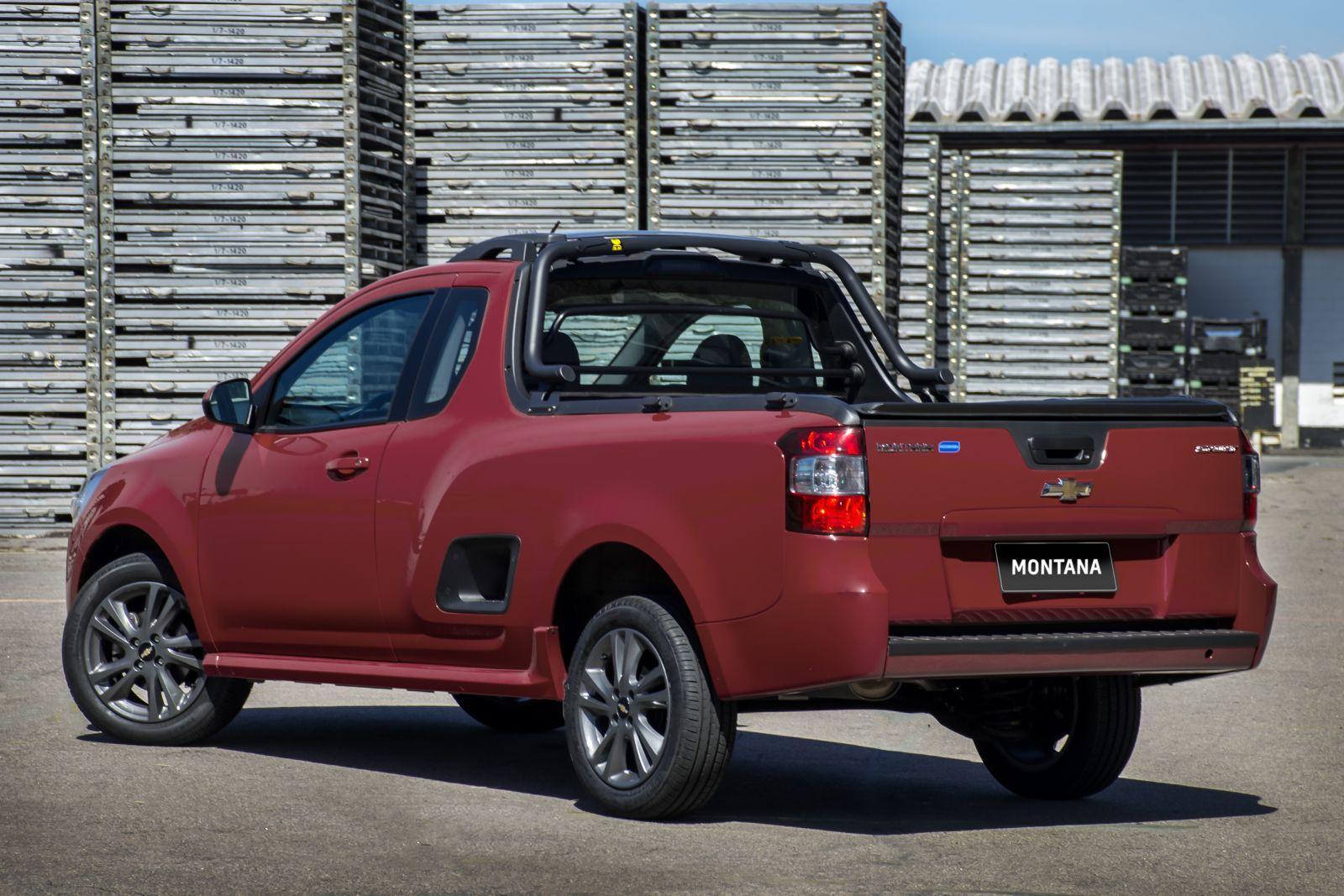 Chevrolet Montana 2018