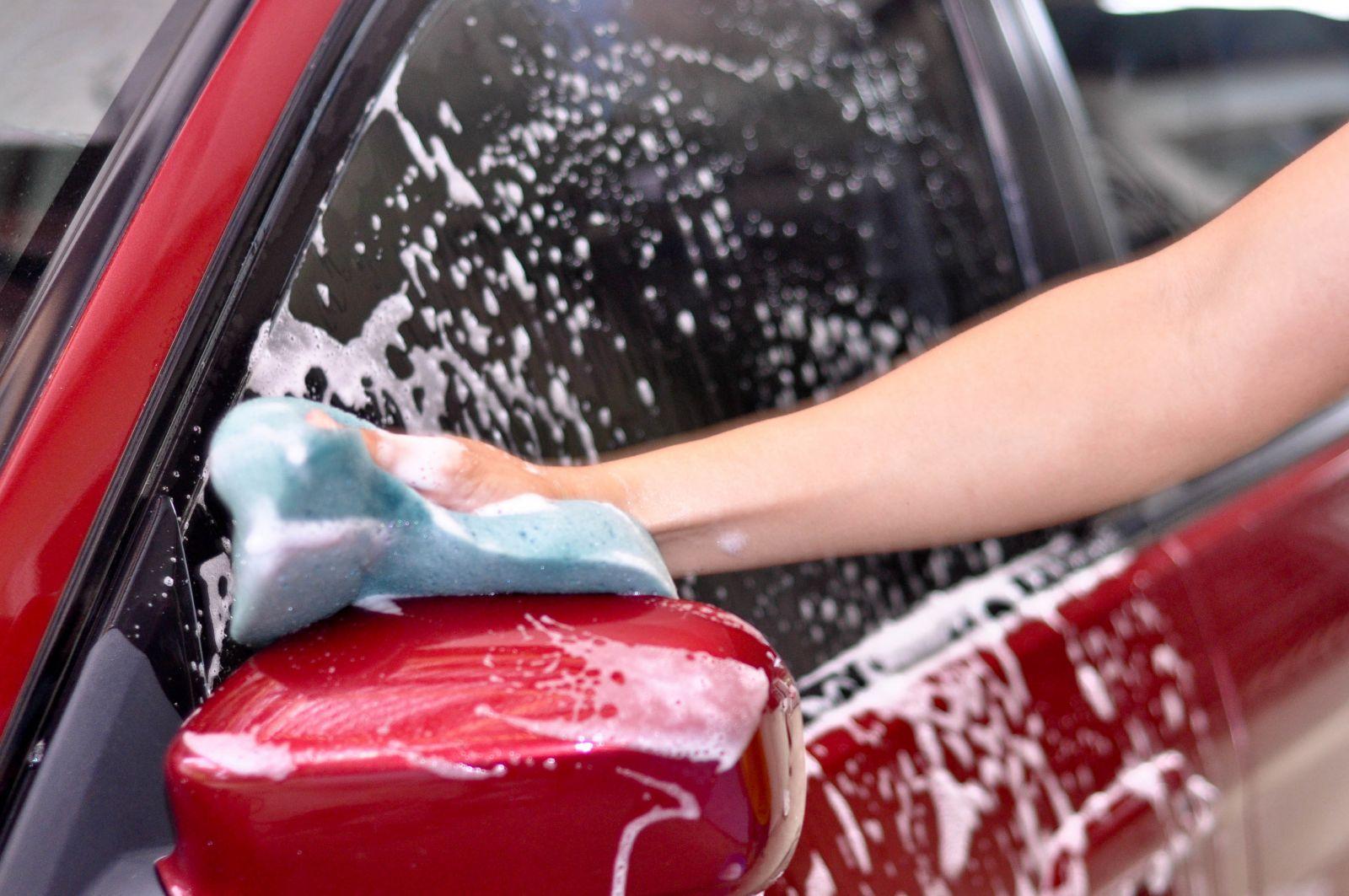 Lavar carro no inverno