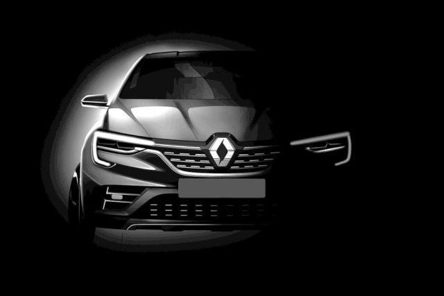 Teaser Renault Captur Coupé