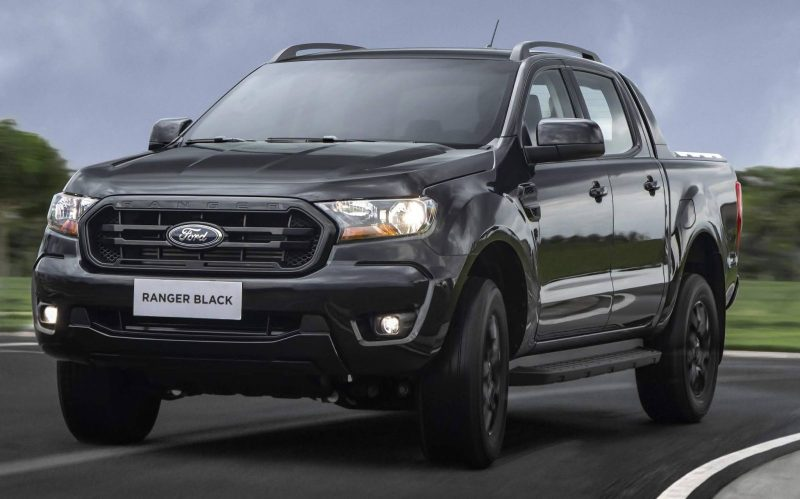 Ford Ranger Black 2021